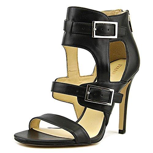 Ivanka Trump Women's Donalu Dress Sandal, Black, 7 M US - Ankle Strap Clog