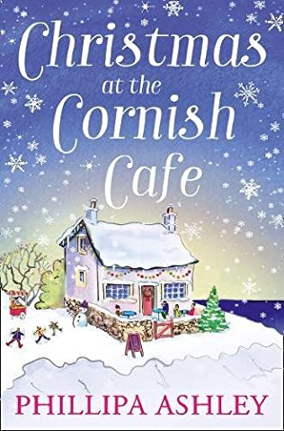 book cover of Christmas at the Cornish Cafe