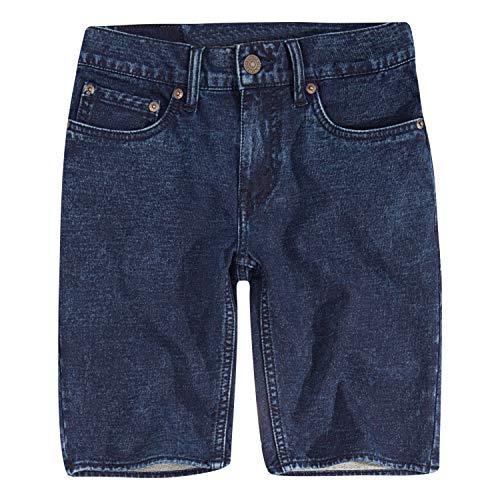 Levi's Boys' Little Soft Knit Jogger Shorts, Echo Park, 4
