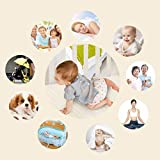 100% Natural Colored Cotton Waterproof Sheet,Baby