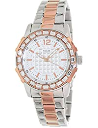 Guess U0018L3 Dazzling Ladies Silver/Rose Gold Watch