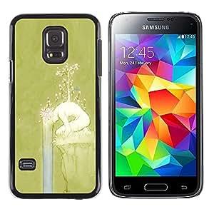 """Pulsar Snap-on Series Teléfono Carcasa Funda Case Caso para Samsung Galaxy S5 Mini ( NOT for regular S5 ) , Primavera Chica Naturaleza Significado Profundo"""""""