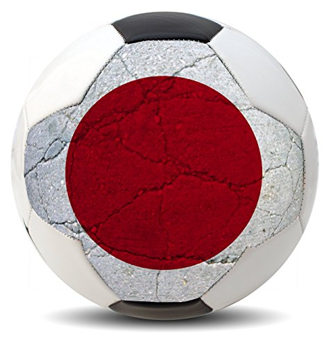 Customized Country Soccer balls for International COPA World Cup Euro League and America (USA, Brazil, Mexico, Spain, Germany, France and more) (Japan)