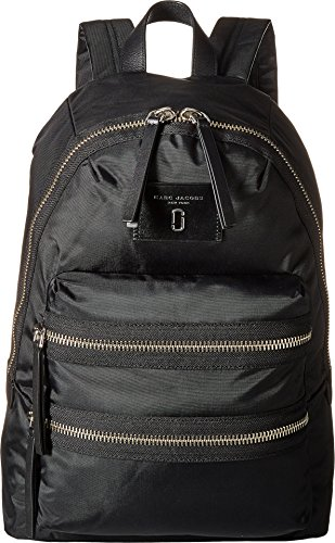 - Marc Jacobs Women's Nylon Biker Backpack, Black, One Size