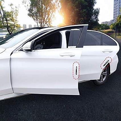 Wellouis 4pcs Car Anti-Collision Trim Strip,Anti-Collision bar,Door Side Protector Anti-Scratch-Zierleiste St/ück Auto Anti-Kollisions-Zierleiste T/ür Seitenschutz Schutz Anti-Scratch-Dekoration