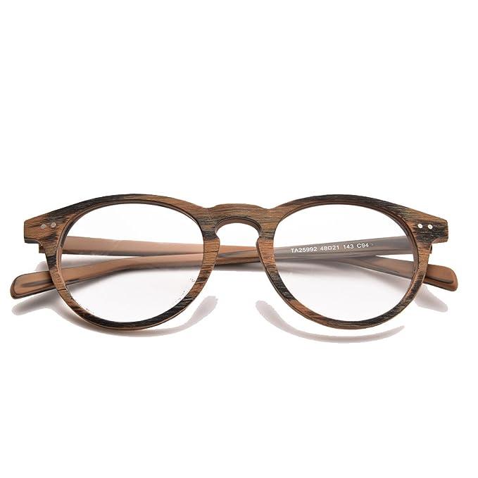 818f137be8 Amazon.com  Rafbenson Olde Worlde Like Wood for Men and Women Glasses for  Reading (Black Wood