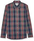 Amazon Brand – Goodthreads Men's Long-Sleeve Plaid Poplin Shirt