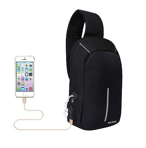 Amazon Com Sling Chest Backpack Multipurpose Shoulder Bag For Mens