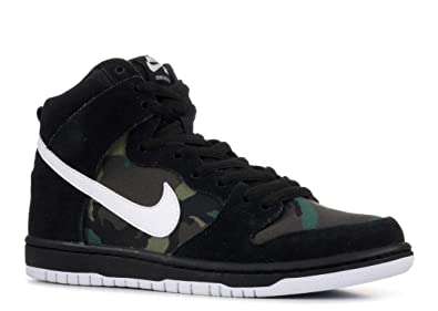 separation shoes c7002 9200d Nike SB Dunk High Pro 'Black/White-Iguana' Camo Size 8.5