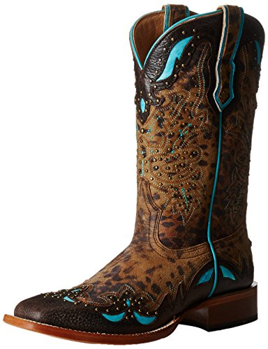 Cinch Classic Women's Jolee, Tan, 10 B US (Cinch Cowboy Boots Womens)