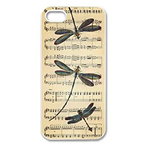 Case For HTC One M7 Cover Hard Back Protective-Unique Design Dragonfly Vintage Case Perfect as Christmas gift(3)