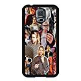 Samsung S5 Phone Case,Onshop Nirvana Kurt Cobain Collage Popular Gifts Case Cover for Samsung Galaxy S5 (Black)