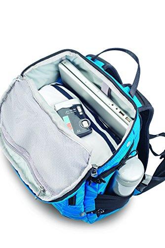 Pacsafe Venturesafe X30 Anti-Theft Adventure Backpack, Hawaiian Blue by Pacsafe (Image #8)