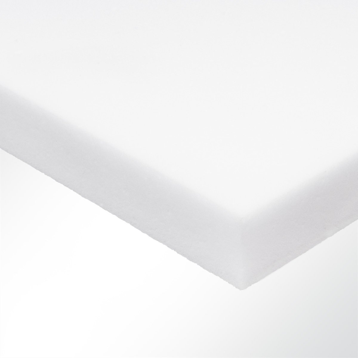 Basotect® Schall Absorber Schaumstoff Schalldämmung Schallschutz Raumakustik 500x20x1000mm Weiß