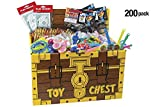 Vivid Medical, Dental Patient Giveaway Party Favor Deluxe Toys with Toy Chest – for Child Patients, Birthday Treasure Hunt, Classroom Use – Assortment of 200