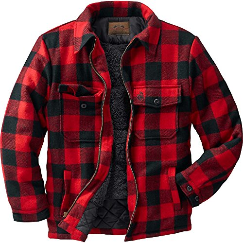 Legendary Whitetails The Outdoorsman Buffalo Jacket Plaid Medium