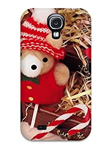 For Galaxy S4 Tpu Phone Case Cover(holiday Christmas)