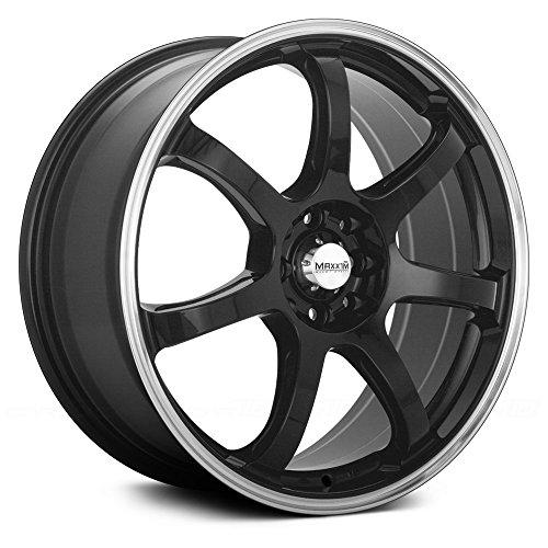 Honda Civic Wheels And Tires - Maxxim Knight Gloss Black Wheel (15x6.5