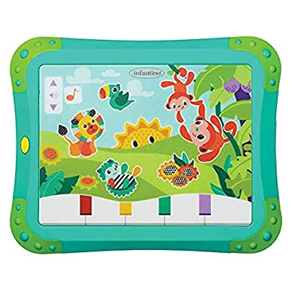 Infantino Topsy Turvy Lights and Sounds Musical Touch Pad 216-055Z
