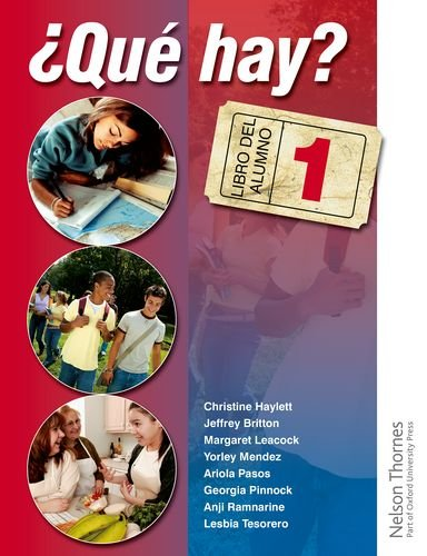 Que Hay? (Book & Audio CD's)