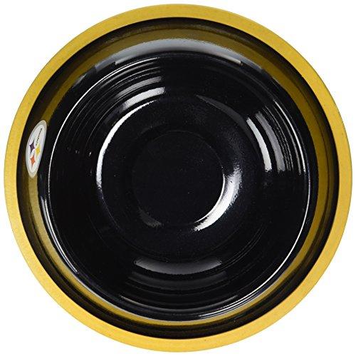 hunter-nfl-pittsburgh-steelers-black-gloss-pet-bowl