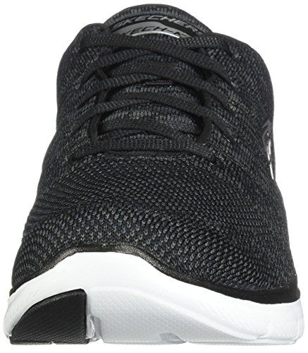 Skechers Damen Flex Appeal 2.0-Break Free Outdoor Fitnessschuhe Schwarz (Bkw)