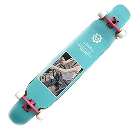 Skateboarding Skateboard Longboard Dance Board Doble Curva De Cuatro ...
