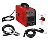 AMICO POWER ARC140 140 Amp Digital Display Welder, DC Inverter Stick/Arc Welding Machine, Red