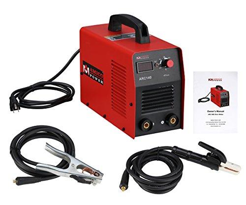 ARC-140, 140 Amp Stick ARC DC Inverter Welder, 110-Voltage Welding Machine