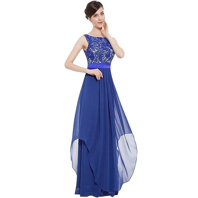 Vestido de Mujer Piebo Mujer Espléndido Maravilloso Elegante Sin Mangas Sólido Vaina Vestido Largo