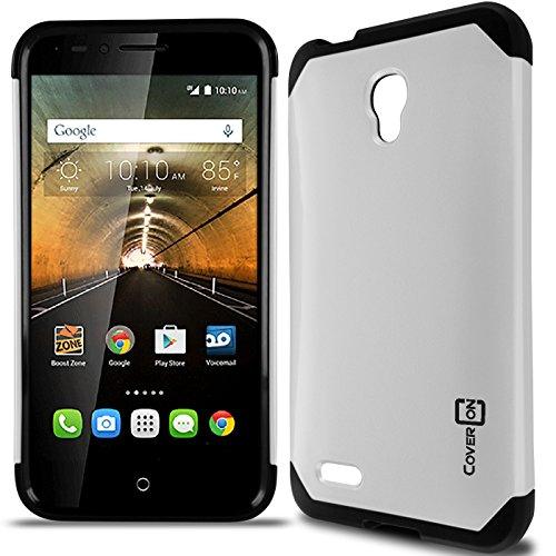 Alcatel Go Play Case, One touch Conquest Case, CoverON Slim Guard Series Slim Dual Layer Armor Hard Cover Thin TPU Phone Case For Alcatel One Touch Go Play / Conquest - Tombile Phones