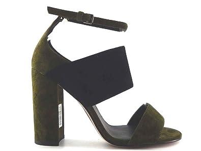 2cf9c538f2c07 Amazon.com: SARA Classy Green And Black Elegant unique Chic Stiletto ...
