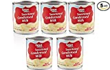 Great Value Sweetened Condensed Milk, 14 oz (10 Servings per Container) - Pack of 5