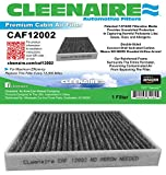 Cleenaire CAF12002 The Most Advanced Protection Against Smog Bacteria Dust Viruses Allergens Gases Odors, Cabin Air Filter For 15-17 Hyundai Sonata (Excluding Hybird)