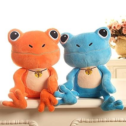 Amazon.com: Kawaii de peluche juguetes rana muñeca Cartoon ...