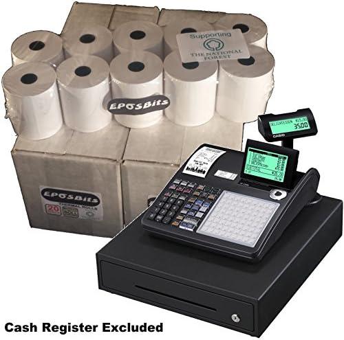 eposbits® marca rollos para que se ajuste a Casio se-c3500 sec3500 ...