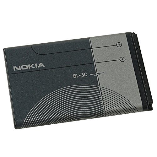 ORIGINAL BATTERY BL-5C BL5C FOR NOKIA 3660 | 5030 | 5130 XpressMusic | 6030 | 6085 | 6086 | 6230 | 6230i | 6267 | 6270 | 6555 | 6600 | 6630 | 6670 | 6680 | 6681 | 6820 | 6822 | 7600 | 7610 | E50 | E60 | N70 | N70 MusicEdition | N71 | N72 | N91 | N91 8GB | N-Gage