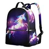 JSTEL Unicorn Magic Stars School Backpack 1th 2th 3th Grade for Boys Teen Girls