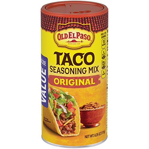 (Old El Paso Seasoning, Taco, 6.25-Ounce Canisters (Pack of)