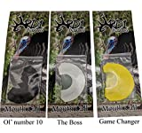 RD1 Outdoors Turkey Mouth Call Combo Kit-3 Reed - Pack of 3