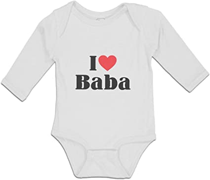 I Love My Nana This Much Cute and Funny Heart Baby Grow BodySuit Body Suit Vest