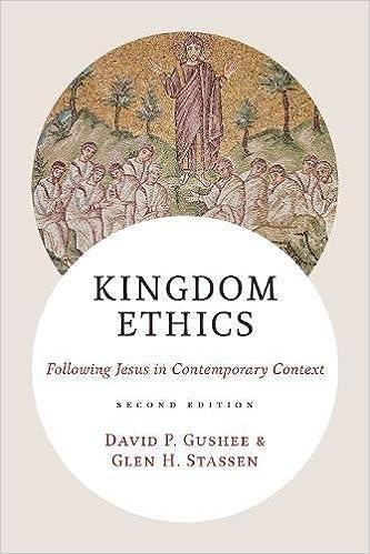 Amazon Com Kingdom Ethics Following Jesus In Contemporary Context