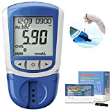 Cholesterol Monitor, 5 in 1 Multifunction Measuring HDL, LDL, Total Cholesterol, Triglycerides