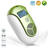 [2018 UPGRADED] Ultrasonic Pest Repellent - Electronic Pest Repeller Plug In Effective Indoor & Outdoor Pest Free Insects Control, for Rodent, Cockroach,Mosquito,Rat,Mice,Bed Bug,Spider,Flea,Fly