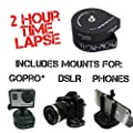 The Accessory Pro® Flow-Mow 2 Hour Timelapse compatible with all GoPro® / DSLR / Cell Phone with Tripod and Phone Mount from The Accessory Pro