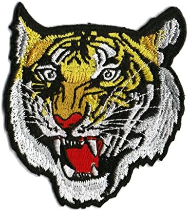TIGER IRON ON APPLIQUE 2 1//8 X 1 5//8 inch