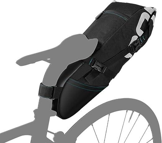 WY-AYNG Sillín de Bicicleta 8L / 10L (Asiento Trasero) con ...