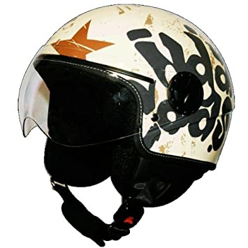 Amazon.es: CASCO INDIAN COAST MILI - CREAM - Talla M