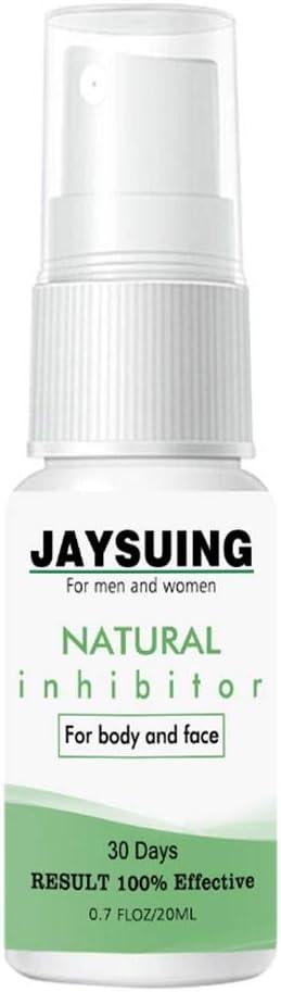 Godya Inhibidor del Vello, Spray de depilación Sin Dolor Sin estímulo Spray de depilación Que inhibe el Crecimiento del Vello para Hombres Mujeres Uso
