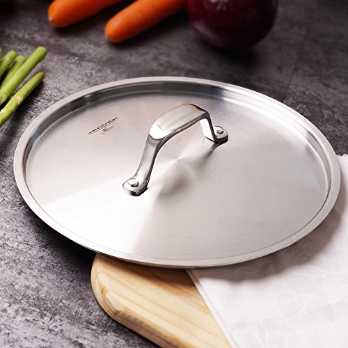 Homi Chef Nickel Free 8 Quot Inches Stainless Steel Lid